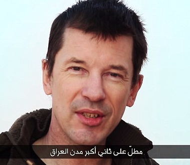 ISIS Prisoner Cantlie Appears in Mosul Video